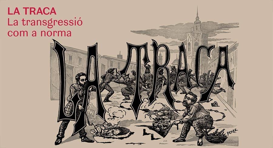 Diseño de catálogo para la exposición de la revista La Traca