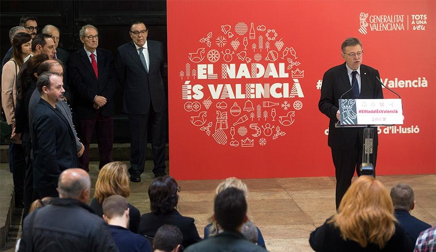 Presentación de la campaña de Navidad de la Generalitat Valenciana